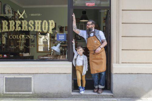 Manfred Daams für den Barbershop Cologne