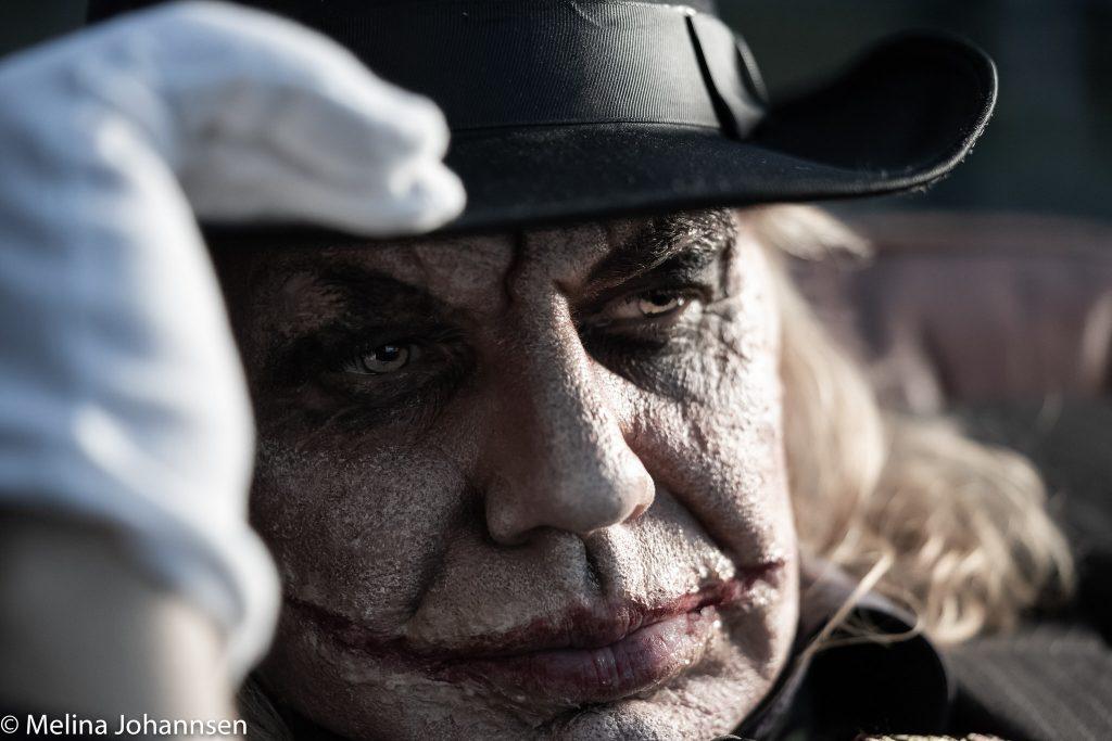 Melina Johannes mit Charles Schrader - SFX Freework Joker