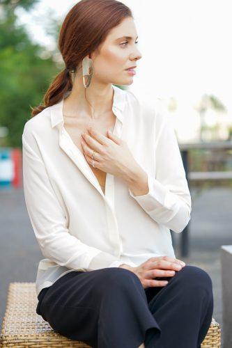 Melina Johannsen mit Model Isabel Langer für Lea Marie Jewelry