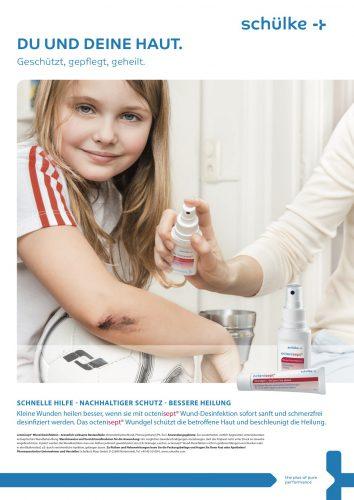 Melina Johannsen Mit Fotograf Alex Mainz für Schülke Arzneimittel