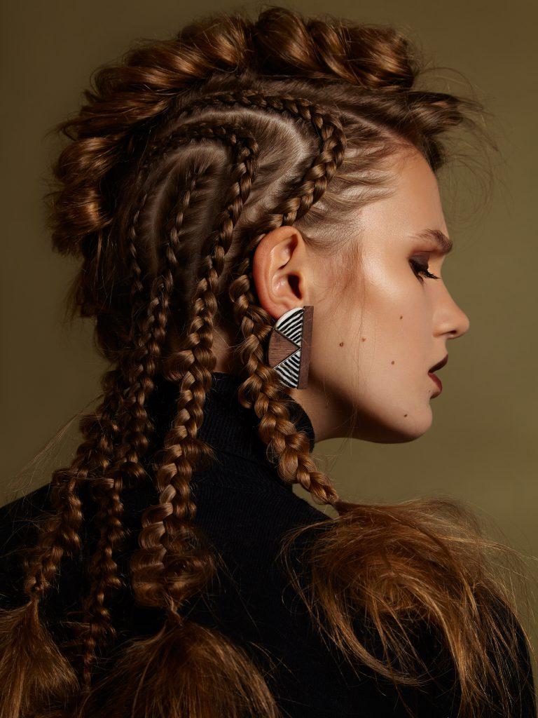 Miriam Guenther mit Model Marie Bossen und Fotografin Stefanie Raschke für das Salysemagazine