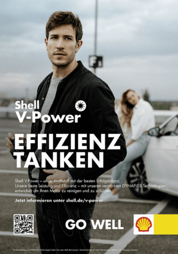 Shell - V- Power - Go Well Marleen Riemen
