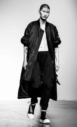 Lisa Jureczko / Jeon Hae Min / Storm Models / Yin Lee / Han Ki Ryong / DGNAK / LFWM London Fashion Week Mens / Kaltblut Magazin / London /